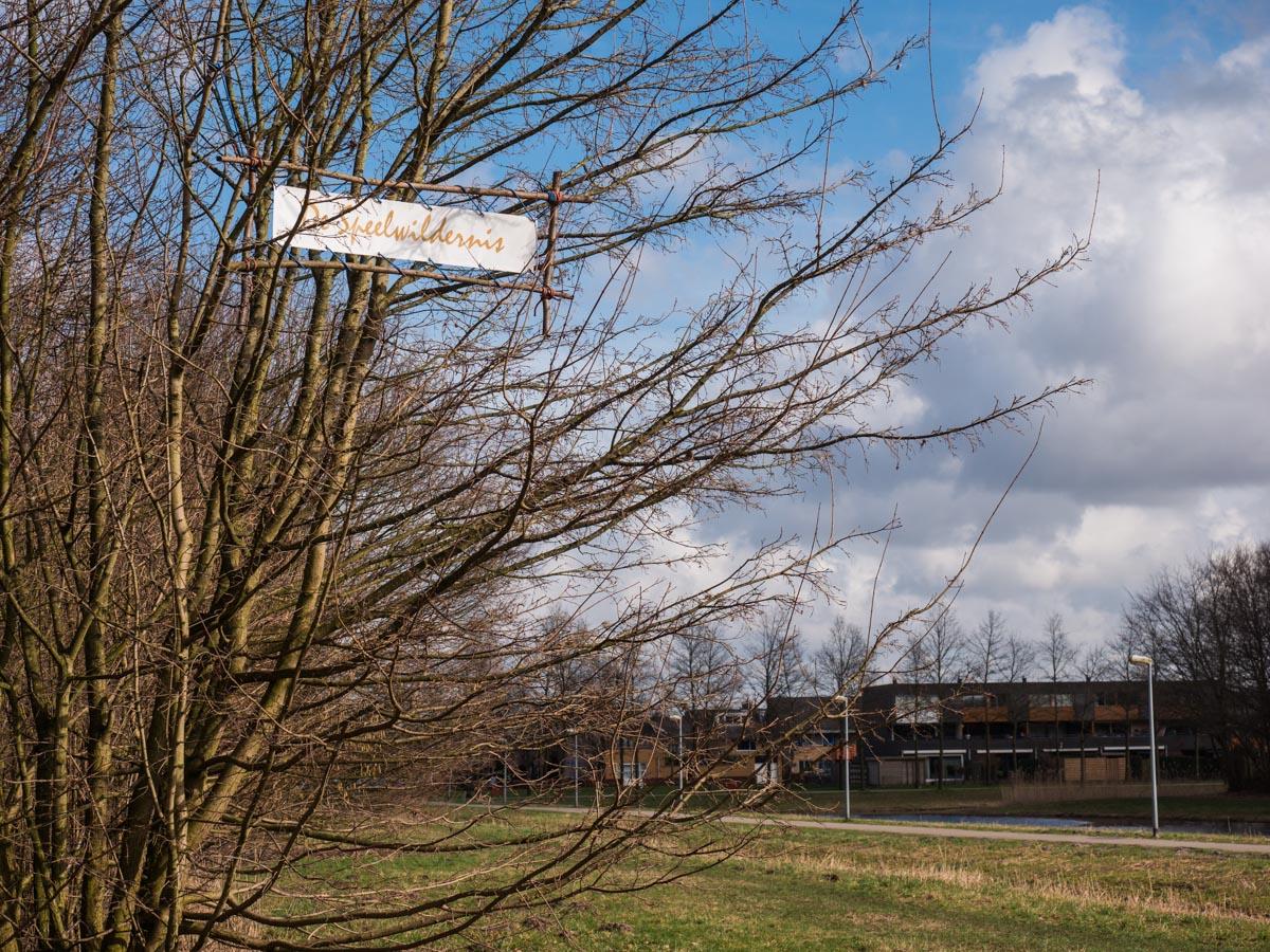 De speelwildernis in Almere Buiten